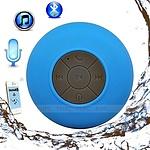 Mini Waterproof Wireless Bluetooth Speaker (Blue) - with Warranty