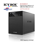 ICY BOX IB-3640SU3 External 4-bay JBOD system for 3.5 Inch SATA HDDs - with Warranty
