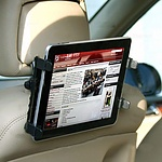 Car Back Seat Bracket Mount Holder for iPad GPS DVD TV - with Warranty + 'image'