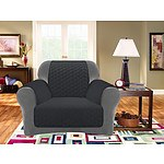 Surefit Custom Fit Sofa Cover Protector Slate 1 Seater - RRP: $70 - Brand New