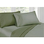 Ardor 1000 Thread Count Reversible Cotton Rich Sheet Set Sage King - RRP: $219 - Brand New