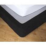 Apartmento Stretch Valance Ebony King Single - RRP: $68 - Brand New