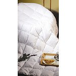 King Quilt - 100% White Duck Feather - RRP $144.95 - Brand New