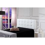 PU Leather Queen Bed Deluxe Headboard Bedhead - White - RRP $279.95 - Brand New