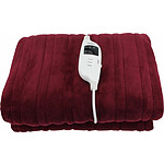 Red Heated Throw Rug - RRP $189.00 - Brand New