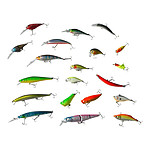 All Rounder 20 Piece Hard Body Lure Tackle Pack - RRP $173.50 - Brand New