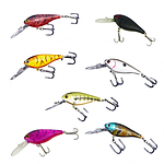 Finesse Medium/Deep Diving Lures - Set of 7