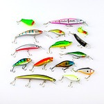 Blue Seas Hard Body Lure Tackle Pack - Contains 15 Lures