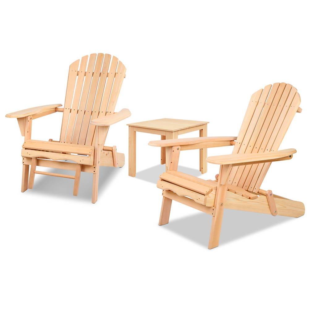 Adirondack Chairs And Ottoman Set Lot 892526 Allbids