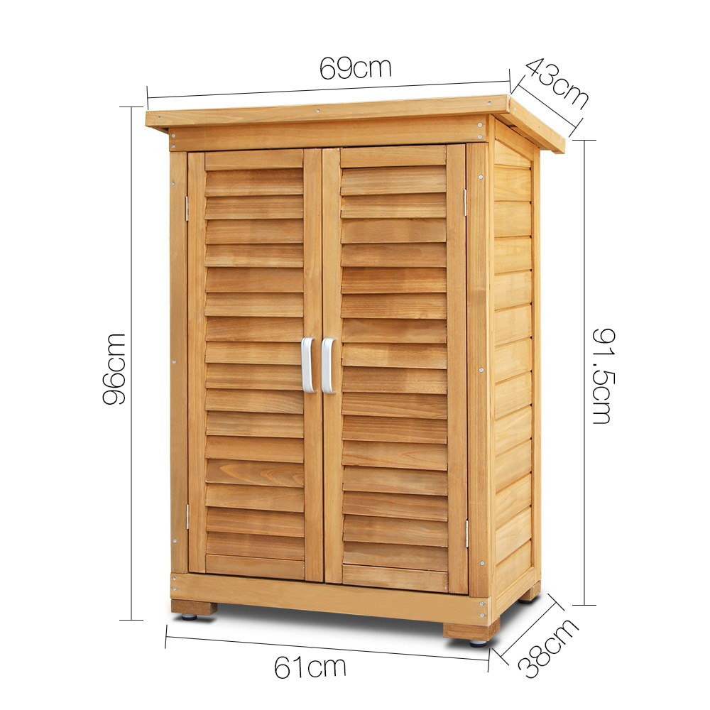 Outdoor Furniture Cabinets: Outdoor Storage Cabinet Brand - Lot 892541