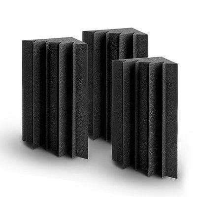20pcs Studio Acoustic Foam Sound Absorption Proofing Panels Corner DIY - Brand New - Free Shipping