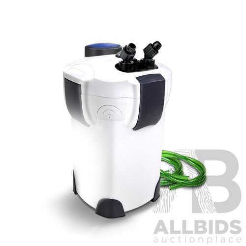 Aquarium External Canister Filter Aqua Fish Tank UV Light with Media Kit 2400L/H - Brand New - Free Shipping