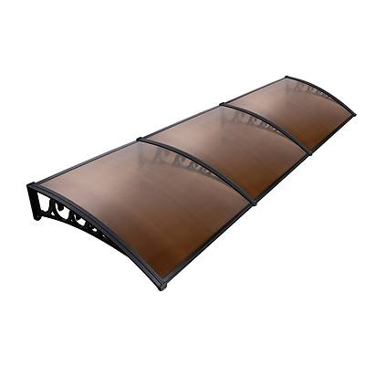 DIY Window Door Awning Cover Brown 100 x 300cm - Brand New - Free Shipping