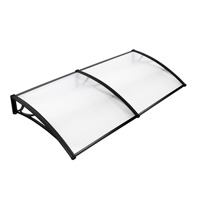 DIY Window Door Awning Shade 1 x 2m - Transparent - Brand New - Free Shipping