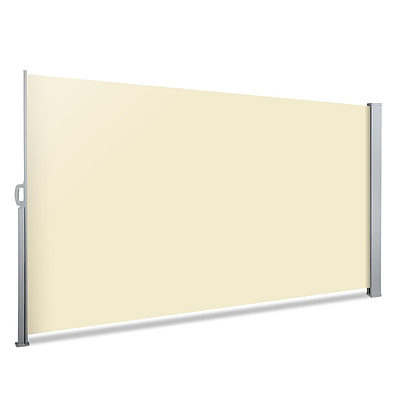 Retractable Side Awning Shade - Beige