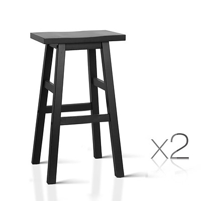 Set of 2 Baden Bar Stools Black - Brand New - Free Shipping