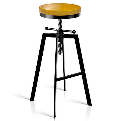 Adjustable Height Industrial Stool - Brand New - Free Shipping