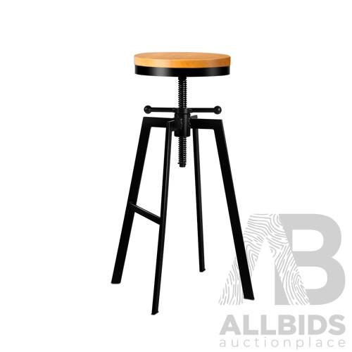 Adjutable Height Swivel Bar Stool - Black - Brand New - Free Shipping