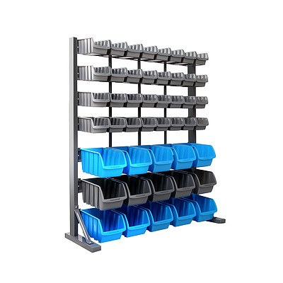 47 Bin Storage Shelving Rack - Brand New - Free Shipping