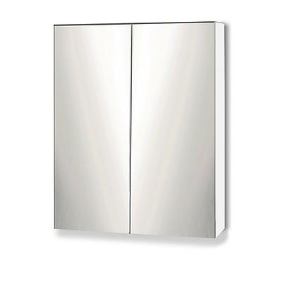 Bathroom Vanity Mirror with Storage Cavinet - White - Free Shipping