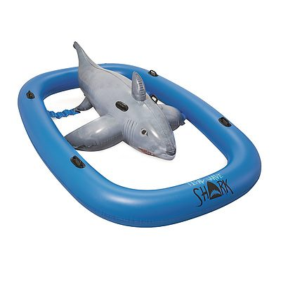 3.1m Inflatable Pool Floating Raft Bull Riding Toy Raft Float Play Pool
