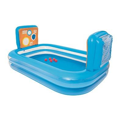 Inflatable Kids Pool Skill Shot Swimming Paddling Pool Ball Pit Game Toy