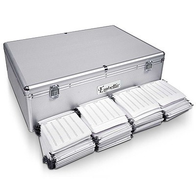 Aluminium CD DVD Bluray Storage Case Box 1000 Discs SL - Brand New - Free Shipping