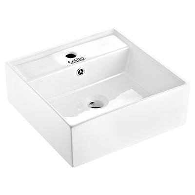 Ceramic Rectangle Sink Bowl - White - Brand New - Free Shipping