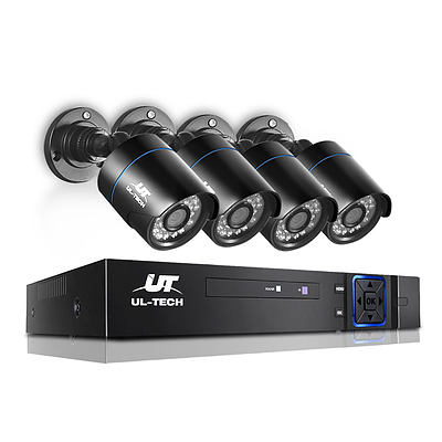1080P 4 Channel HDMI CCTV Security Camera - Brand New - Free Shipping