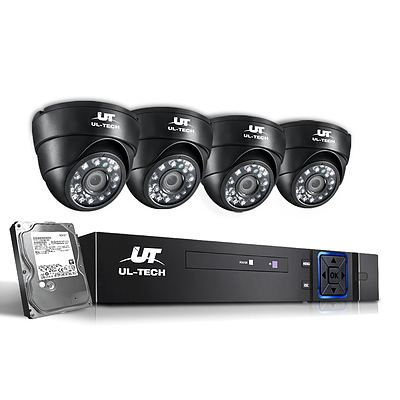 CCTV Security System 2TB 8CH DVR 1080P 4 Camera Sets - Brand New - Free Shipping