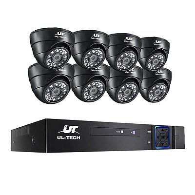 1080P 8 Channel HDMI CCTV Security Camera  - Brand New - Free Shipping