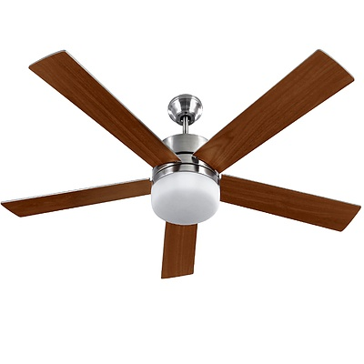 52'' Ceiling Fan w/Light Wall Control 2-sided Blades - Brand New - Free Shipping