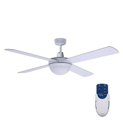52 Ceiling Fan - White