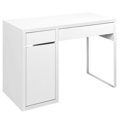 Office Study Computer Desk Cabinet White - Brand New - Free Shipping