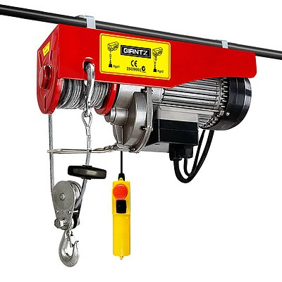 400/800kg 1300W Electric Hoist Winch - Free Shipping