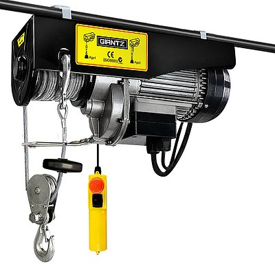 400/800kg 1300W Electric Hoist Winch - Brand New - Free Shipping