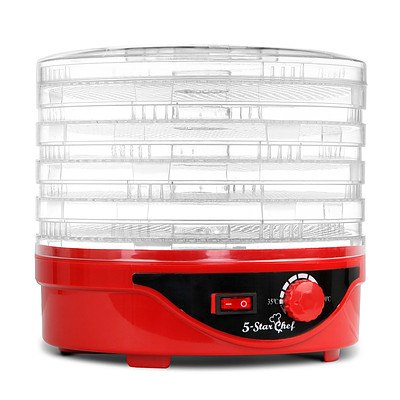 Food Dehydrator with 5 Trays - Red - Brand New - Free Shipping