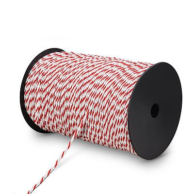 500m Stainless Steel Polywire Insulator - Free Shipping