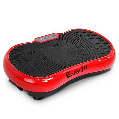 Vibration Machine Plate Platform Body Shaper Home Gym Fitness Red - Brand New - Free Shipping