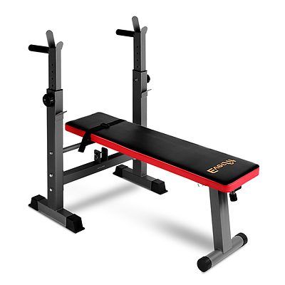 Multi-Station Weight Bench Press Weights Equipment Fitness Home Gym Red - Brand New - Free Shipping