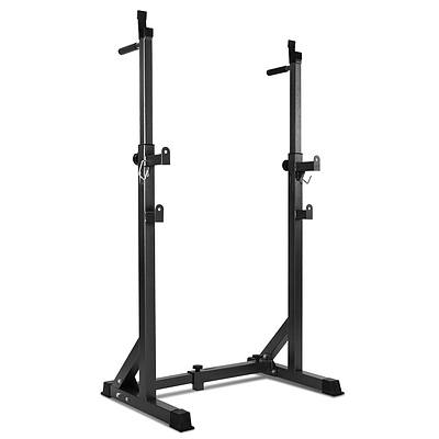 Squat Rack Pair Fitness Weight Lifting Gym Exercise Barbell Stand - Brand New - Free Shipping