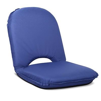 Foldable Beach Sun Picnic Seat Navy - Brand New - Free Shipping