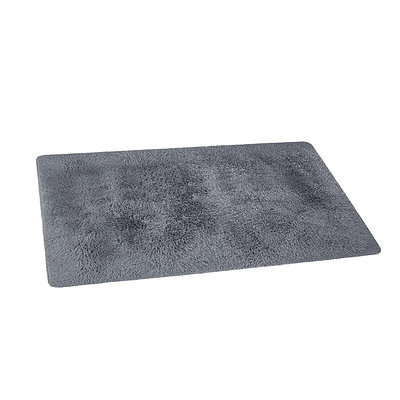 140x200cm Ultra Soft Shaggy Rug Large Floor Carpet Anti-slip Area Rugs Grey - Brand New - Free Shipping
