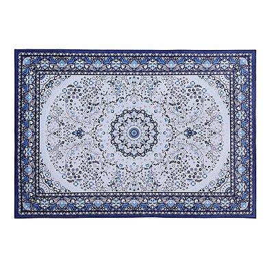 Short Pile Floor Rug 160x230cm Gaspar Blue