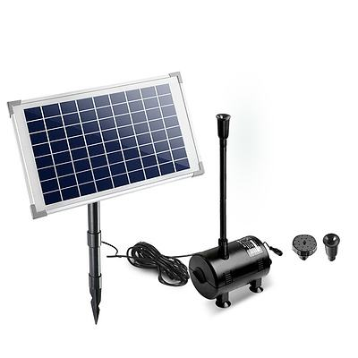 650L/H Submersible Fountain Pump with Solar Panel - Free Shipping