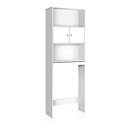 Bathroom Storage Cabinet - White - Free Shipping