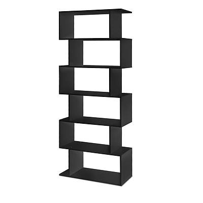 6 Tier Display Shelf Black - Brand New - Free Shipping