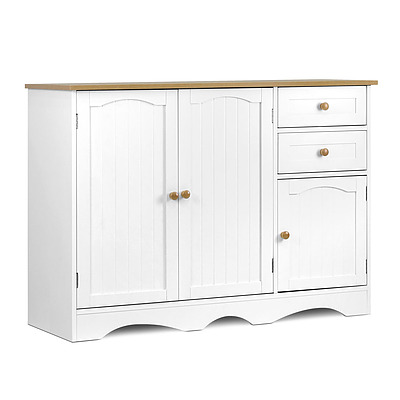 Buffest Sideboard Hallway Entrance Table - White - Free Shipping