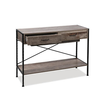 Wooden Hallway Console Table - Wood - Free Shipping