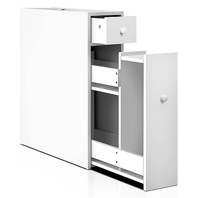 Bathroom Storage Cabinet White - Free Shipping